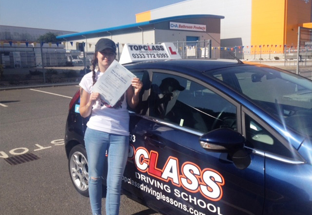 Driving Lesson Test Pass in Chatham - Tish-Tarrant