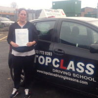 Driving Lessons Chatham - Customer Reviews - Vicky Miskin