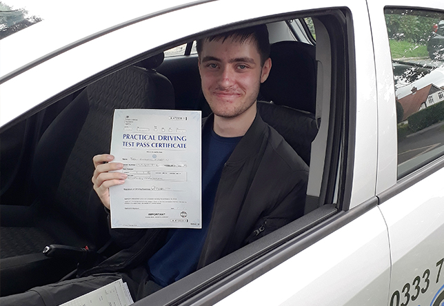 Driving Lesson Test Pass in Maidstone - Ben Martin