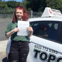 Driving Lessons Gillingham - Customer Reviews - Leah Tottman