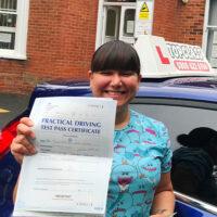 Driving Lessons Canterbury  - Customer Reviews - Mari Austen