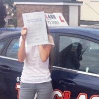 Driving Lessons Chatham - Customer Reviews - Shona