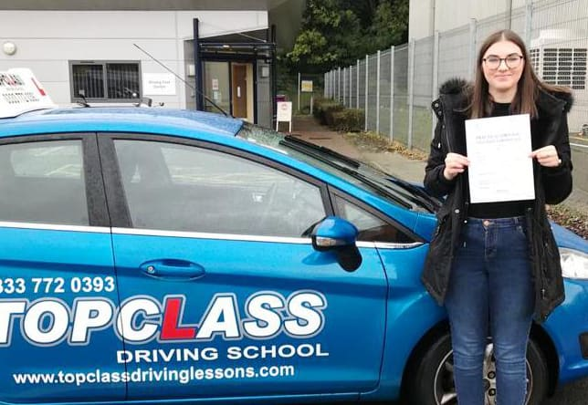 Driving Lesson Test Pass in Chatham Alex