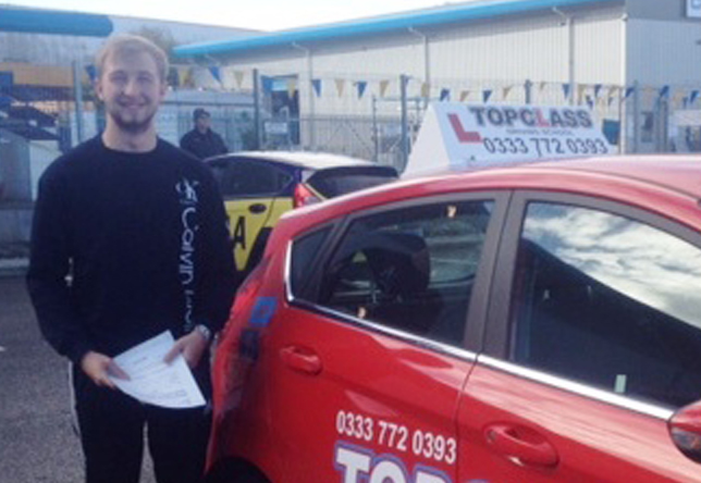 Driving Lesson Test Pass in Gillingham – Kieran Wildish