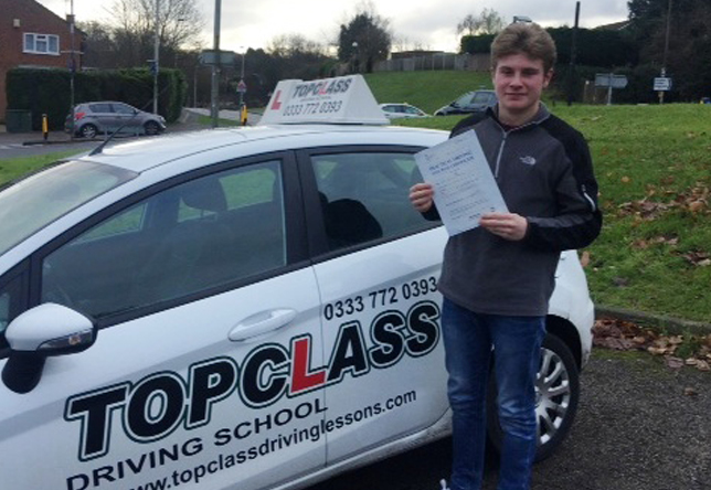 Driving Lesson Test Pass in Maidstone – Adam Sheepwash