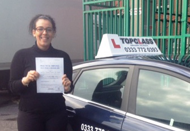 Driving Lesson Test Pass in Chatham Norhan