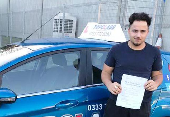 Driving Test Pass Gillingham blake Simpson